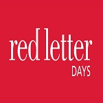10% Off First Orders with Newsletter Sign-Ups at Red Letter Days
